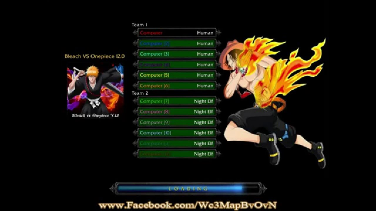 Download Map Dota Naruto Vs Bleach Vs One Piece Ai Terbaru Avagreat
